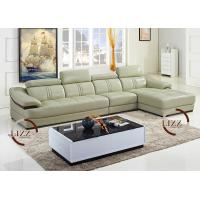 Large Leather Sectional Sofas (L. PA07)
