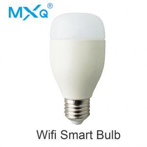 China Tuya App Smart Led Light Bulbs , E27 Energy Saving Dimmer Wifi Controlled Bulbs on sale