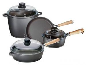 China Cast Aluminum non stick kitchenares sets on sale
