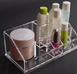 China clear Cosmetic Box Acrylic Organizer With Beautiful Shape on sale