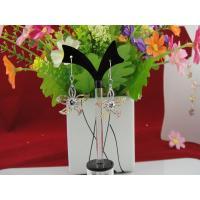 925 Sterling Silver Flower Jewelry Dangle Earrings