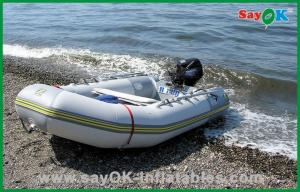 China Electric Inflatable Boat With Motor River Blow Up Fishing Boat on sale