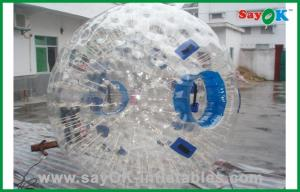 China Gaint Plastic Human Hamster Ball Inflatable Sports Games For Bubble Soccer on sale