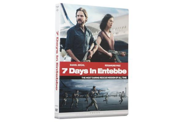 7 Days in Entebbe DVD Movie Thriller Action Crime Drama