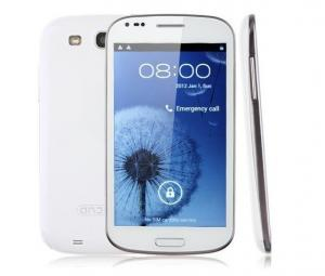 China N7000+ MTK6577 Smart Unlocked Android 4.0 Smartphones 1.0GHz 3G GPS WiFi Camera 5.3 Inch on sale