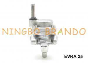 China EVRA 25 Danfoss Type Servo Operated Ammonia Solenoid Valve Cast Iron Body Steel Flange on sale