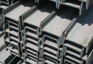 China Mild Steel Products Steel I Beam With JIS G3101 SS400, ASTM A36, EN 10025 on sale