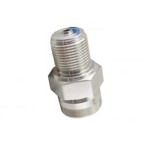 Metal CNC Fittings / SS compression fittings 2088 Pressure transmitter housing