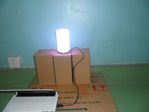 China Energy Saving IP45 Induction Led Color Changing Light Bulb With Wireless Remote on sale