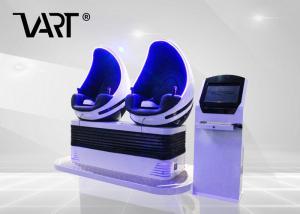 China 相互VRの小屋タッチ画面が付いている9d VRのバーチャル リアリティの映画館を回す360度 on sale