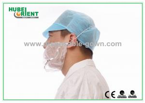 China Economical Detectable Disposable Head Cap For Dustproof Protection on sale
