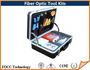 China Trousses à outils optiques de fibre de secours d'ensemble complet, outils optiques de fibre imperméable on sale