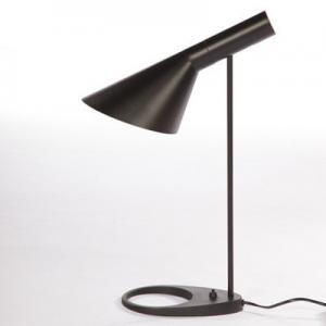 China Architectural Design Bedroom Side Table Lamps , AJ Black Desk Lamp For Home Office on sale