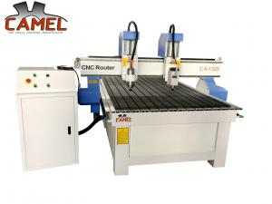 China Promotion!!!Jinan CAMEL CA-1325 2 heads stable wood cnc machine /double heads cnc router for wood door furniture on sale