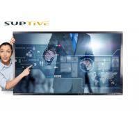 China 55 Inch Wall Mounted Interactive Whiteboard / Electronic Whiteboard Touch Screen on sale