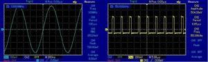Quality Uni_T wide screen OSCILLOSCOPE 100MHz UTD2102CEL for sale