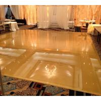Laminate flooring indoor waterproof flooring aluminum edge for dance floor wooden dance floor