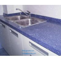 Blue Quartz Tile Countertops