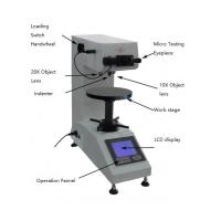 Optical Vickers Micro Digital Hardness Tester High Internal Memory Capability