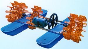 China New High Speed Shrimp Pond  Paddle Wheel Aerator 1.5kw 5impellers on sale