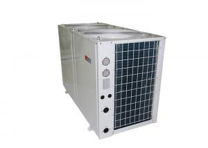 China 35 KW Industrial Top Discharge Air Source Heat Pump R410A Refrigerant on sale