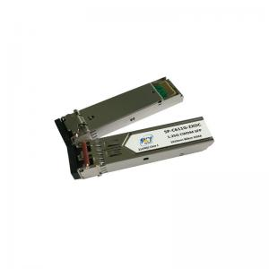 China 1.25Gbps 80km Single Mode DWDM SFP Transceiver on sale
