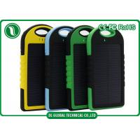 China Ultra thin 4000mah 5000mah Portable Mobile Power Bank Solar Power Battery Bank on sale