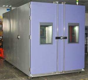 China Programmable Environmental Test Chamber 8m3 Double Door With Glass Window on sale