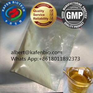 China Sell 99.8% Dark Yellow Short Cycle Steroids Powder Trenbolone Acetate Finaplix H Revalor H Raw Powder CAS:10161-34-9 on sale
