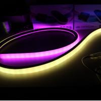Topview Square 7 color changing addressable digital dmx ws2811 led neon flexible strip