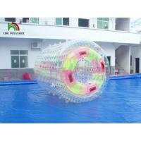 Water Game Colorful Inflatable Water Rolling Toy By Fire - Resistance 1.0mm PVC / TPU