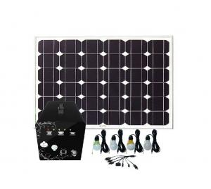 China 60 Watt Solar Home Lighting System , Solar House Lighting System For Emergency on sale