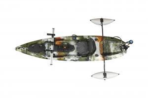 China Powerful Electric Engine Powered Kayak , Sea Fishing Kayak  5mm Hull Thickness on sale