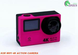 China Outdoor WIFI Remote Control Action Camera H3R Hidden 2.0 Dual Screen HD Video on sale