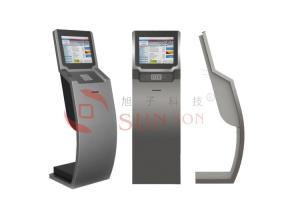 China Slim Advertising Multi Touch Screen Information Kiosk Interactive Modern on sale