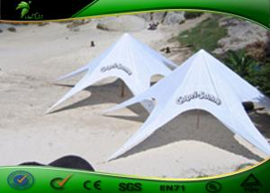 China Anti - Mildew Aluminum Alloy Advertising Star Shade Tent Approved CE/UL on sale