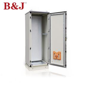 China 120° Door Opening Free Standing Electrical Enclosures , Outdoor Switch Box Enclosure on sale