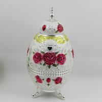China Shinny Gifts Color Drawing Toothpick Holder Automatic Zinc Alloy Toothpick Dispenser Box on sale