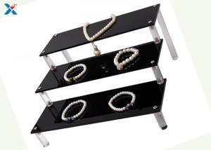 China Clear Acrylic Jewelry Organizer / Three Layer Acrylic Makeup Organizer on sale