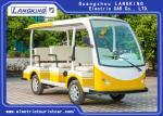 8 Person 4 Wheels Electric Sightseeing Bus Electric Tourist Car with Vacuum Tire