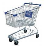 Multi - tipo cesto de compras fechado dos EUA dos carrinhos de compras do fio da função do metal da moeda