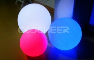 China Christmas Decoration Orbs Led Lights Rainbow RGB Color Spheres on sale