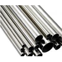 China Round Polished Ss Welded Pipes Welded Steel Pipe High Precision Thin Wall on sale