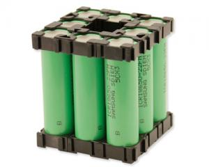 China Best Li-ion Battery Pack 18650 3.7V 17.6Ah with PCM and Plastic Holder on sale