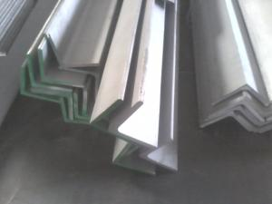 China Heat Resistant Stainless Steel Angle Bar , Stainless Steel Equal Angle on sale