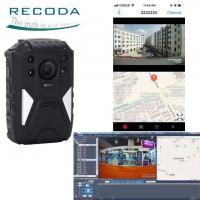 Full HD 1440P Night Vision 4G Body Cameras Support GPS Tracking With Wide Angle 140 Degree