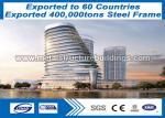 S235JR / S355JR Prefabricated Steel Structures For Workshop / Warehouse