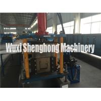 Modernized U / J Channel Roll Forming Machine Pre Punch Operation