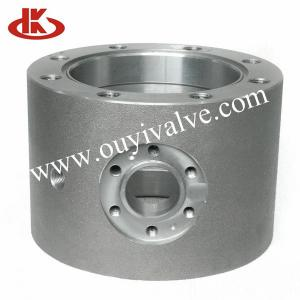 China High Pressure Forging Ball Valve Spare Parts , Casting Trunnion Mounted Flanged Split Body on sale