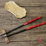 Multi Color Japanese Style Chopsticks Disposable With Safe Bamboo Material